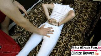 Ellerini Arkadan Bağladığı Genç Kızı Taciz Ediyor