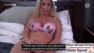Sarışın Üvey Annemle Boşalma Pornosu