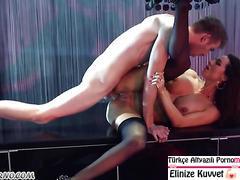 Striptiz Kulüpte İnanılmaz Seks