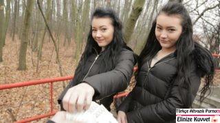 Rus ikiz Kızlar Para için Sex Yaptılar