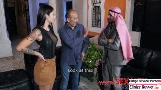 Arap Zengine Kızını Pazarlıyor
