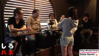 Barmen Genç Çıtırı Tüm Erkek Müşteriler Sikti