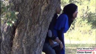 Ormanda Gizlice Sikişen Suriyeli Çıtırlar