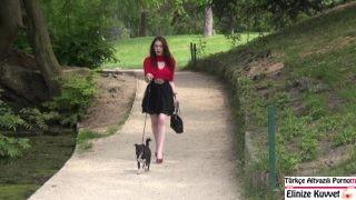 Parkta Tanıştığı Kızı Eve Atıp Saatlerce Götünü Sikti